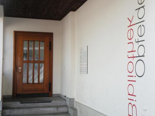 Bibliothek, Schmittenstrasse, Obfelden