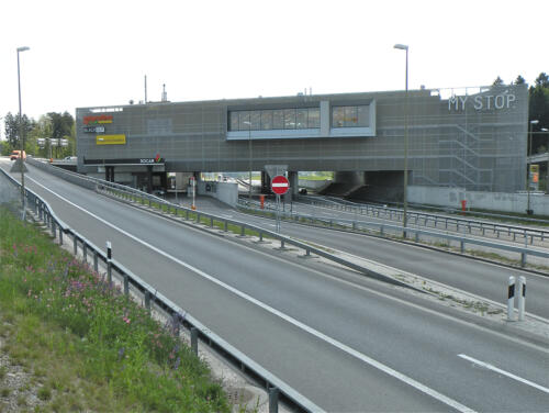 Raststätte My Stop, A4, Obfelden Ausfahrt